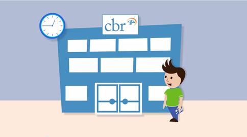 CBR 2d animatie film door ShareAll