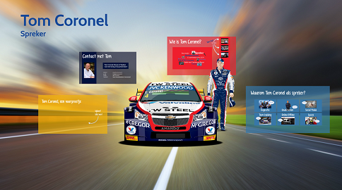 Tom Coronel Prezi presentatie door ShareAll