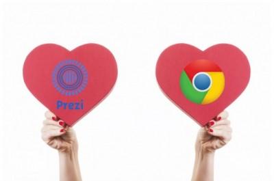 Prezi en Chrome